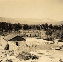 Image of UNRS-P1992-01-0038 - Photograph of Nevada State Prison, Carson City, NV, circa 1927.