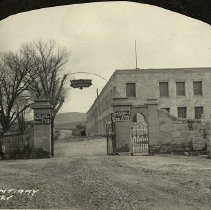 Image of UNRS-P1992-01-0058 - Photograph of Nevada State Prison, Carson City, NV, circa 1927.