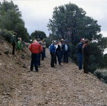 Image of UNRS-P2008-18-1232 - [TCID group out in the hills circa 1981].
