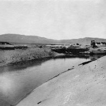 Image of UNRS-P2008-18-1994 - [B_W photos- Lahontan Dam Construction].