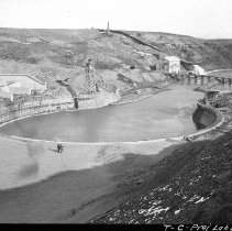 Image of UNRS-P2008-18-2975 - [Truckee Carson Project, Lahontan Dam].
