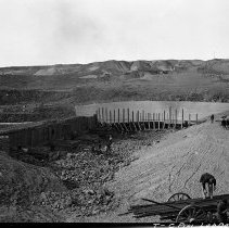 Image of UNRS-P2008-18-2977 - [Truckee Carson Project, Lahontan Dam].