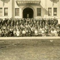 Image of UNRS-P1992-01-4634 - Lillian Beedle, Freshman Class, Reno High School, March,1917.