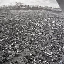 Image of UNRS-P2012-10-293 - [Aerial view of Reno. 1965.]