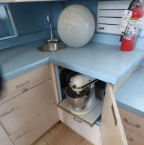 Image of UNRS-P2016-08-00257 - Crummer built in kitchen-aid mixer