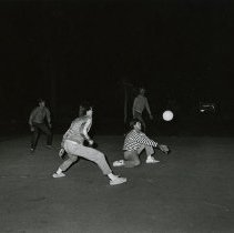 Image of UNRA-P1512-224 - Volleyball practice at Sigma Nu.
