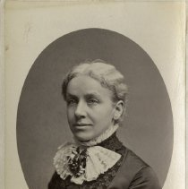 Image of UNRS-P1986-16-02 - Mary Ann Evans Arrowsmith, about 1879. Photo by Bradley and Rulofson, San Francisco.