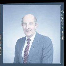 Image of UNRA-P3630-S09-00005 - Photograph of University President Joe Crowley