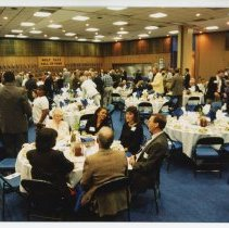 Image of UNRA-P3630-S09-00012 - Photograph of people at the Wolf Pack Hall of Fame dinner