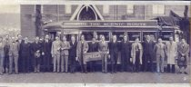 Image of Upsala College (East Orange, N.J.) records - Upsala Glee Club by Bus
