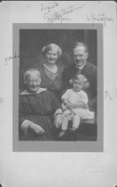Image of Upsala College (East Orange, N.J.) records - William, Augusta, Eleanor, and Grandmother Gustafson