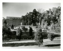 Image of Gustaf Adolf Magnusson photographs (Augustana Book Concern), 1905-1960s - Exterior of Andreen at Augustana College (Rock Island, Illinois)