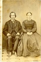 Image of Samuel Magnus Hill papers, 1870-1920 - Portrait of a Man and a Woman