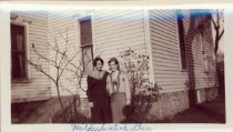 Image of Roy A. Johnson family papers and photographs - Mildred and Esther Lindstedt