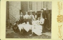 Image of Scandinavian American Portrait collection - Carl R. Chindblom and friends on picnic