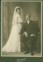 Image of Scandinavian American Portrait collection - Wedding portrait of Reverend Emil Gottfrid and Alma Chinlund