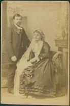 Image of Reverend John and Mrs. Ekblad