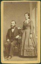 Image of Scandinavian American Portrait collection - Reverend Carl Otto Granere and Sophia Albertina Granere