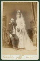 Image of Scandinavian American Portrait collection - Wedding portrait of Reverend Carl Otto Granere and Maria Granere