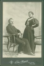 Image of Scandinavian American Portrait collection - Professor Edwin J. Gustus and Edith Roser Wilkins Gustus
