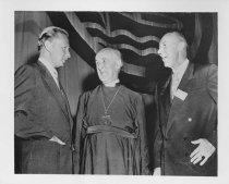 Image of Scandinavian American Portrait collection - Dag Hammarskjöld, Geoffrey Francis Fischer, and O. Frederick Noble