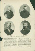 Image of Scandinavian American Portrait collection - Carolus Loundin, Hans Trulson, Mauritz Johnson, and Erick Knutson