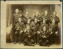 Image of Scandinavian American Portrait collection - Swedish Evangelical Lutheran Band (Ishpeming, Mich.)