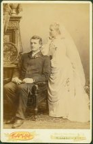 Image of Scandinavian American Portrait collection - Wedding portrait of Reverend and Mrs. John Jesperson