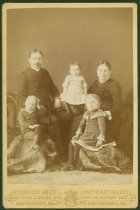 Image of Scandinavian American Portrait collection - Lindahl family