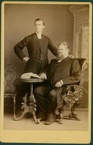 Image of Scandinavian American Portrait collection - Reverend Conrad Emil Lindberg and Rev. Carl Evald II