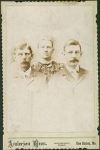 Image of Scandinavian American Portrait collection - John August Anderson, Mary Ann Anderson and William Andrew Anderson