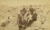 Image of Scandinavian American Portrait collection - Augustana men and women and Bishop von Sheele (Pikes Peak, Colo.)