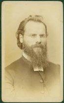 Image of Scandinavian American Portrait collection - Reverend Eric Norelius