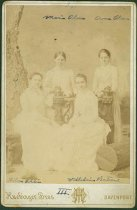 Image of Scandinavian American Portrait collection - Anna and Maria Olsson, Wilhelmina Wistrand and Hilma Ohlin