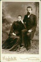 Image of Scandinavian American Portrait collection - Reverend Doctor Carl Johan and Christina Petri