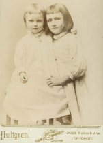 Image of Scandinavian American Portrait collection - Ebba and Florinda Abrahamson