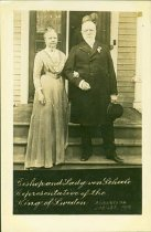 Image of Scandinavian American Portrait collection - Bishop Knut Henning Gezelius and Lady von Schéele
