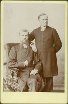 Image of Scandinavian American Portrait collection - The Reverends Johannes Telleen and Emanual Edman