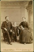Image of Scandinavian American Portrait collection - Reverend Doctor Matthias and Selma Christine Wahlström