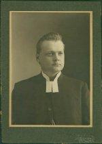 Image of Scandinavian American Portrait collection - Reverend Professor Ernest Andrian Zetterstrand