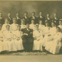 Image of Scandinavian American Portrait collection - Grace Lutheran Church Confirmation Class of 1911 (Rankin, Ill.)