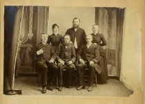 Image of Scandinavian American Portrait collection - Faculty at Bethany Normal Institution (Lindsborg, Kan.)