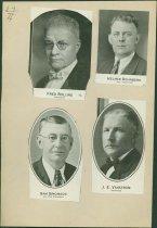 Image of Scandinavian American Portrait collection - Fred Bolling, Helmer Rehnberg, Sam Simonson and J. E. Vanstrom