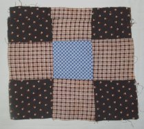 Image of Block, Quilt - 1992.13.4 a-i, k-p