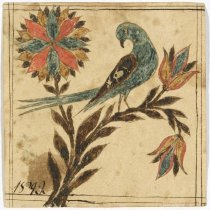 Image of Small bird drawing, 1822