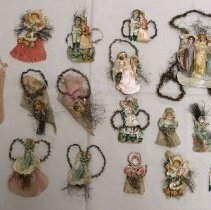 Image of Homemade Christmas decorations, early 20th cent.