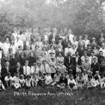 Image of Price Family Reunion, 1927