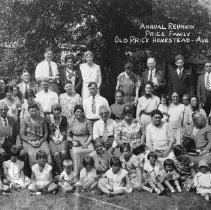Image of Price Family Reunion, 1930