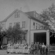 Image of A.H. Nyce Clothing Factory, Morwood, PA, ca.1895