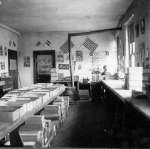 Image of Wm. G. Nyce & his post card company, Vernfield, PA, ca.1910